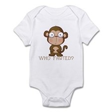 Who Farted? Infant Bodysuit