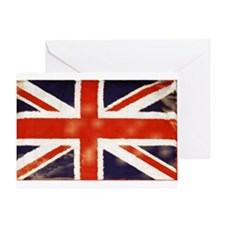 oddfrogg Vintage Union Jack Greeting Card