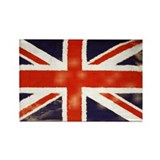 oddfrogg Vintage Union Jack Refrigerator Magnet