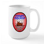 Dead Horse Comedy Hour logo Large Mug