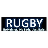 Rugby Bumper Bumper Sticker