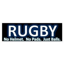 Rugby Bumper Car Sticker