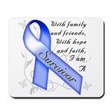Cute Colon cancer survivor Mousepad