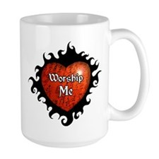 Worship Me BDSM Coffee Mug