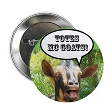 The Original Totes McGoats Button