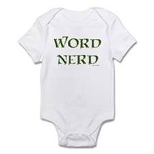 Word Nerd (medieval) Infant Bodysuit