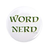 "Word Nerd (medieval) 3.5"" Button"