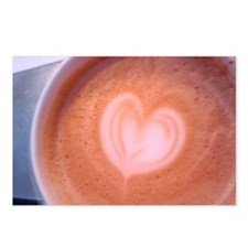 You gotta latte heart... Postcards (Package of 8)
