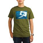 Chain Eye Organic Men's T-Shirt (dark)