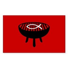 Fire It Up Rectangle Sticker 10 pk)