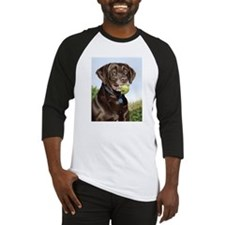 Chocolate Lab 1 Baseball Jersey