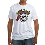 Pirate Skull Fitted T-Shirt