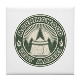 Morningwood Tent Makers Tile Coaster