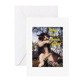 Cute Hang there Greeting Cards (Pk of 20)