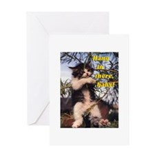 Cute Lolcats Greeting Card