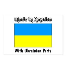 Ukrainian Parts Postcards (Package of 8)