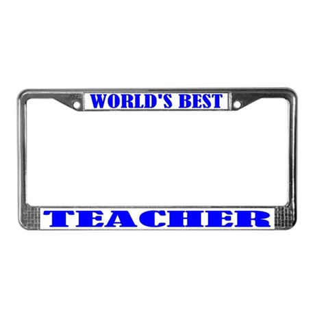 Best Teacher License Plate Frame