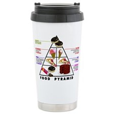 Food Pyramid 2 Ceramic Travel Mug