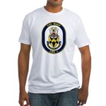 USS Wasp LHD-1 Navy Ship Fitted T-Shirt