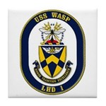 USS Wasp LHD-1 Navy Ship Tile Coaster