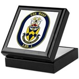 USS Wasp LHD-1 Navy Ship Keepsake Box