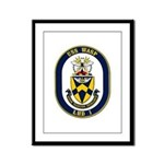 USS Wasp LHD-1 Navy Ship Framed Panel Print