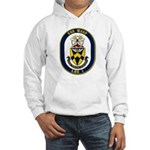 USS Wasp LHD-1 Navy Ship Hooded Sweatshirt