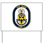 USS Wasp LHD-1 Navy Ship Yard Sign