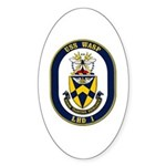 USS Wasp LHD-1 Navy Ship Oval Sticker