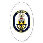 USS Wasp LHD-1 Navy Ship Oval Sticker (50 pk)