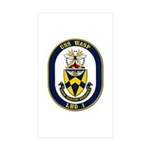 USS Wasp LHD-1 Navy Ship Rectangle Sticker 50 pk)