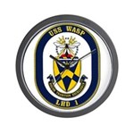 USS Wasp LHD-1 Navy Ship Wall Clock