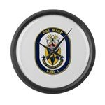 USS Wasp LHD-1 Navy Ship Large Wall Clock