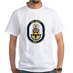USS Wasp LHD-1 Navy Ship White T-Shirt