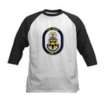 USS Wasp LHD-1 Navy Ship Kids Baseball Jersey