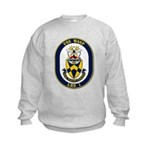 USS Wasp LHD-1 Navy Ship Kids Sweatshirt
