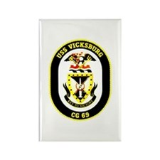USS Navy Ship Rectangle Magnet (100 pack)