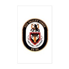 USS Valley Forge CG-50 Navy Ship Decal