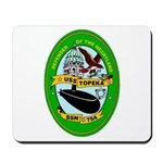 USS Topeka SSN-754 Navy Ship Mousepad