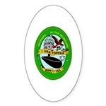 USS Topeka SSN-754 Navy Ship Oval Sticker (50 pk)