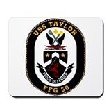 USS Taylor FFG-50 Navy Ship Mousepad