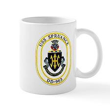 USS Spruance DD-963 Navy Ship Mug