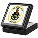 USS Spruance DD-963 Navy Ship Keepsake Box