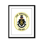 USS Spruance DD-963 Navy Ship Framed Panel Print