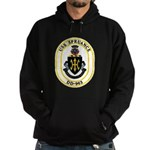 USS Spruance DD-963 Navy Ship Hoodie (dark)