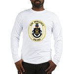 USS Spruance DD-963 Navy Ship Long Sleeve T-Shirt