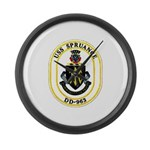 USS Spruance DD-963 Navy Ship Large Wall Clock