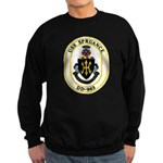 USS Spruance DD-963 Navy Ship Sweatshirt (dark)