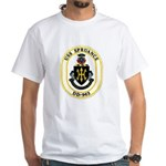 USS Spruance DD-963 Navy Ship White T-Shirt