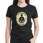USS Spruance DD-963 Navy Ship Women's Dark T-Shirt